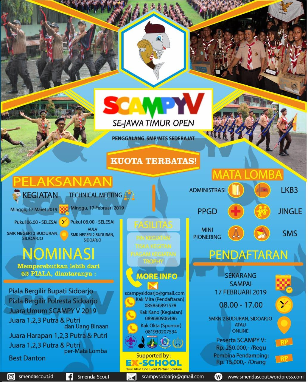 SCAMPY V 2019 JAWA TIMUR OPEN