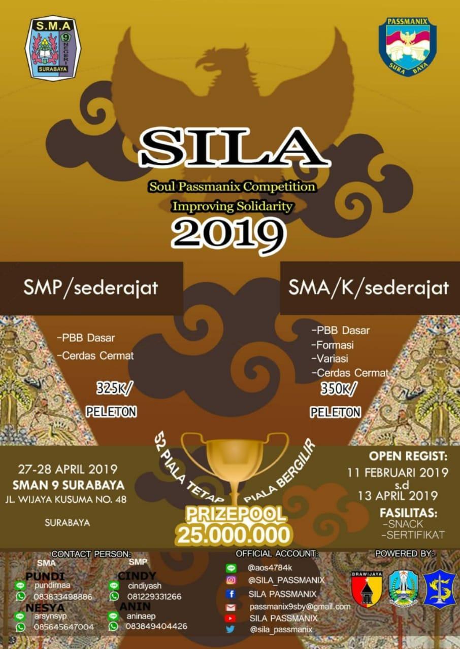 SILA 2K19 - SMA Negeri 9 Surabaya