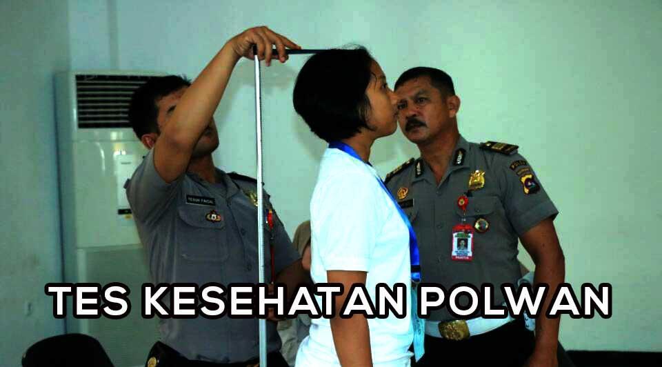 Tahapan Tes Kesehatan Polisi Wanita - POLWAN