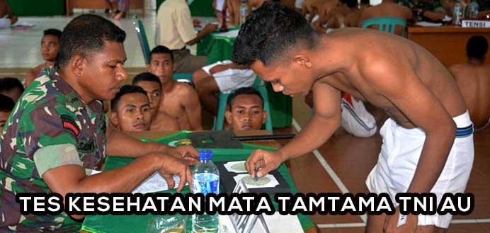 Tips Lolos Tes Kesehatan Mata Tamtama TNI AU