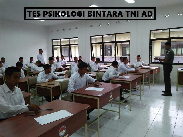 Tes Psikologi Atau Psikotes Bintara Tni Ad Your All In One Event Partner Solution